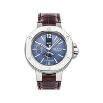 Clerc pre-owned Automatic 44mm Blue 10 ATM