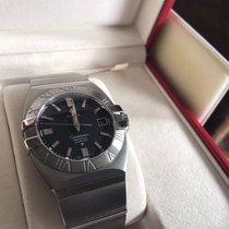 Omega Constellation Quartz neu 2005 Quarz Uhr mit Original-Box und Original-Papieren 123.10.35.60.02.001