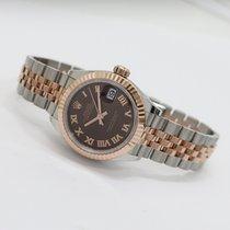 Rolex (ロレックス) レディース デイトジャスト 新品 自動巻き 正規のボックスと正規の書類付属の時計 279171