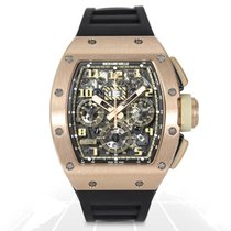 Richard Mille Rose gold 50mm Automatic RM011 RG FM