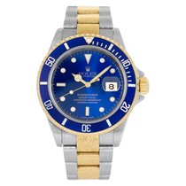 Rolex 16613 Steel Submariner Date 40mm pre-owned United States of America, Florida, Surfside