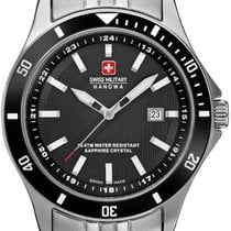 Swiss Military Hanowa Flagship Steel 32mm Black