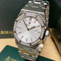 Audemars Piguet Royal Oak Lady usados 33mm Plata Fecha Acero