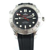 Omega Seamaster Diver 300 M Ocel 42mm Černá Bez čísel