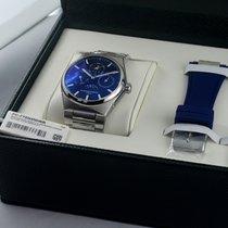 Frederique Constant Manufacture Slimline Perpetual Calendar Acier 41mm Bleu France, Pithiviers