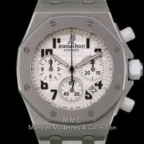 Audemars Piguet Royal Oak Offshore Lady pre-owned 37mm Chronograph Date Rubber