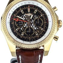 Breitling Rose gold Automatic Black 49mm pre-owned Bentley B04 GMT