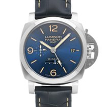 Panerai Luminor 1950 10 Days GMT Steel 44mm Blue