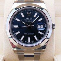 Rolex Datejust II Acier Bleu Sans chiffres France, paris