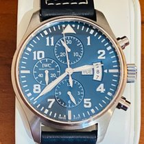 IWC Pilot Chronograph Acier 43mm Bleu Arabes Belgique, ZAVENTEM