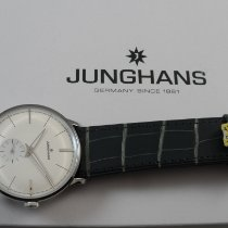 Junghans Meister Handaufzug Stahl 37.7mm Silber Deutschland, Leichlingen
