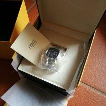 Fendi Stahl 46mm Quarz F225013000 neu