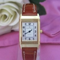 Jaeger-LeCoultre Reverso Lady Yellow gold Silver Arabic numerals