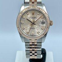 Rolex Lady-Datejust Zlato/Ocel 31mm Růžová