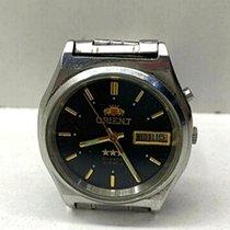 Orient Star Steel 36mm Black No numerals