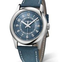 Patek Philippe Calatrava Steel 40mm Blue Arabic numerals