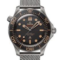 Omega Seamaster Diver 300 M pre-owned 42mm Black Titanium
