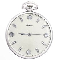 Cartier Watch pre-owned 1935 Platinum 45mm Manual winding Watch only