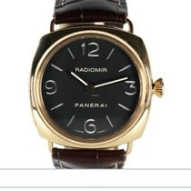 Panerai Radiomir Rose gold 45mm Black Arabic numerals