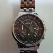 Jean Marcel new Automatic Display back Small seconds Luminous hands Luminous indices 42mm Steel Sapphire crystal