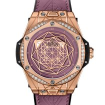 Hublot Rose gold Pink new Big Bang Sang Bleu