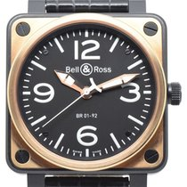 Bell & Ross BR 01-92 Rose gold 2009 BR 01-92 46mm pre-owned