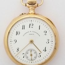 Vacheron Constantin Watch pre-owned 1908 Yellow gold 30mm Arabic numerals Manual winding Watch only