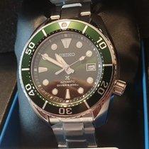 Seiko Prospex Steel 45mm Green No numerals United Kingdom, WEST MOLESEY