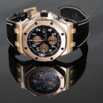 Audemars Piguet Rose gold Automatic Black 42mm new Royal Oak Offshore Chronograph