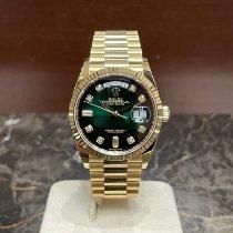Rolex Day-Date 36 nuevo 2020 Automático Reloj con estuche y documentos originales 128238
