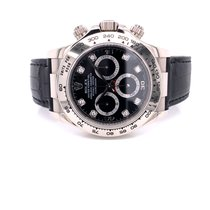 Rolex Daytona White gold 40mm Black United States of America, California, Beverly Hills