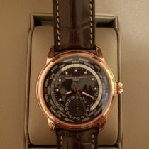 Frederique Constant Manufacture Worldtimer Gold/Steel 42mm Grey United States of America, Pennsylvania, Cranberry Twp