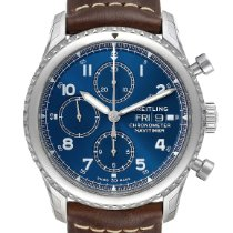 Breitling Navitimer 8 Steel 43mm Blue Arabic numerals United States of America, Georgia, Atlanta