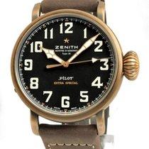 Zenith Pilot Type 20 Extra Special Bronze 45mm Schwarz Deutschland, Teuschnitz