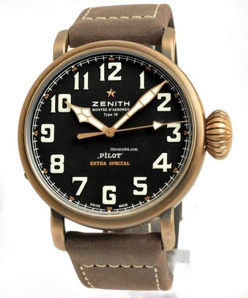 Zenith Pilot Type 20 Extra Special 29243067921C753 nouveau