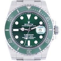 Rolex Automatik Grün 41mm gebraucht Submariner Date