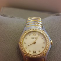 Ebel Classic Gold/Steel Mother of pearl No numerals