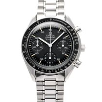 Omega Speedmaster Reduced Stål 39mm Svart