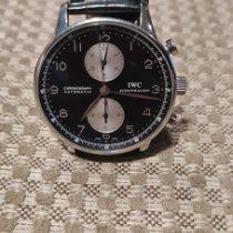 IWC Portuguese Chronograph Сталь 41mm Черный Aрабские Россия, Mosca