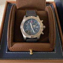 Breitling Avenger Bandit occasion 45mm Gris Chronographe Date Textile