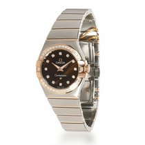 Omega Constellation Quartz Gold/Steel 27mm Brown United States of America, New York, New York