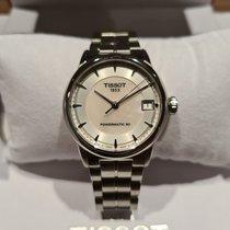 Tissot Luxury Automatic Сталь 33mm Перламутровый Без цифр