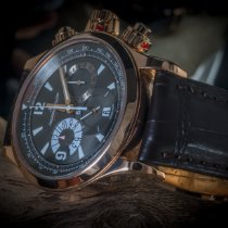 Jaeger-LeCoultre Master Compressor Chronograph usados 41mm Negro Cronógrafo Fecha Cierre desplegable