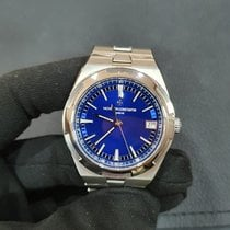 Vacheron Constantin Overseas Acero 41mm Azul Sin cifras