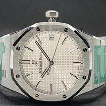 Audemars Piguet Royal Oak Selfwinding neu 2020 Automatik Uhr mit Original-Box und Original-Papieren 15500ST.OO.1220ST.04
