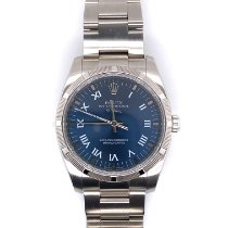Rolex Air King Steel 34mm Blue Roman numerals United States of America, New York, New York