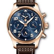 IWC Red gold 43mm Blue United States of America, Iowa, Des Moines