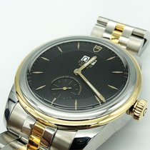 Tudor Glamour Double Date Acero y oro 42mm Negro