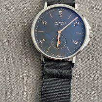NOMOS Ahoi Atlantik Steel 40mm Blue Arabic numerals United States of America, South Carolina, Ladson