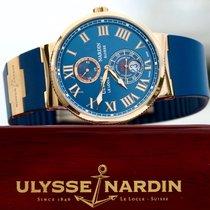 Ulysse Nardin Marine Chronometer 43mm Rose gold 43mm Blue Roman numerals United States of America, Florida, Fort Lauderdale